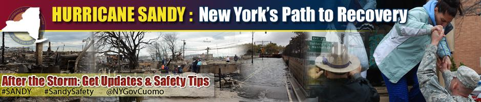 Storm Recovery: Hurricane Sandy