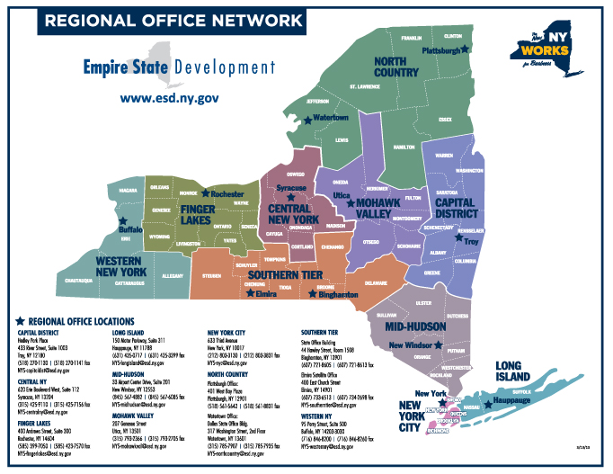 Regional Office Map