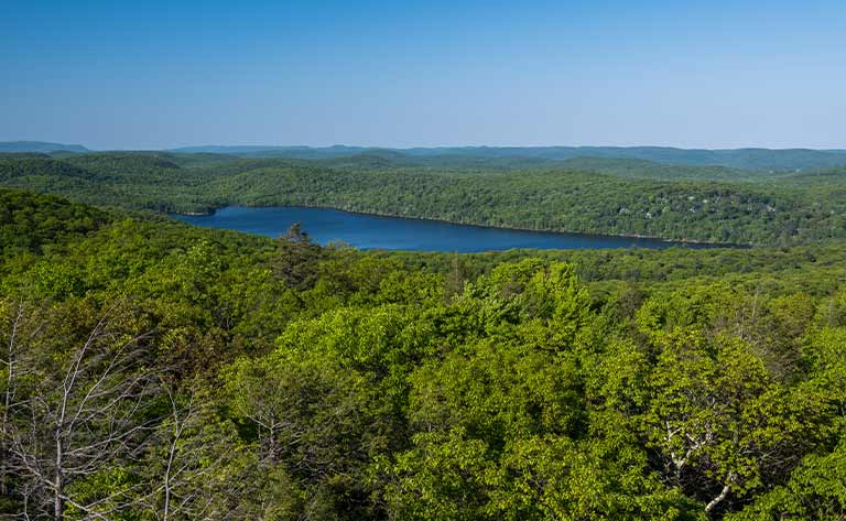 Sterling Forest State Park in the Hudson Valley.