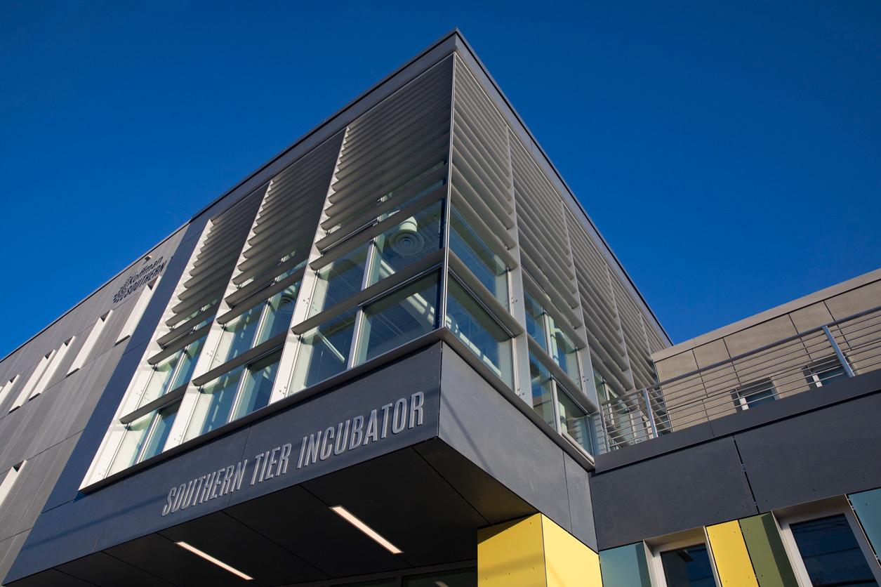 Koffman Southern Tier High Technology Incubator in downtown Binghamton