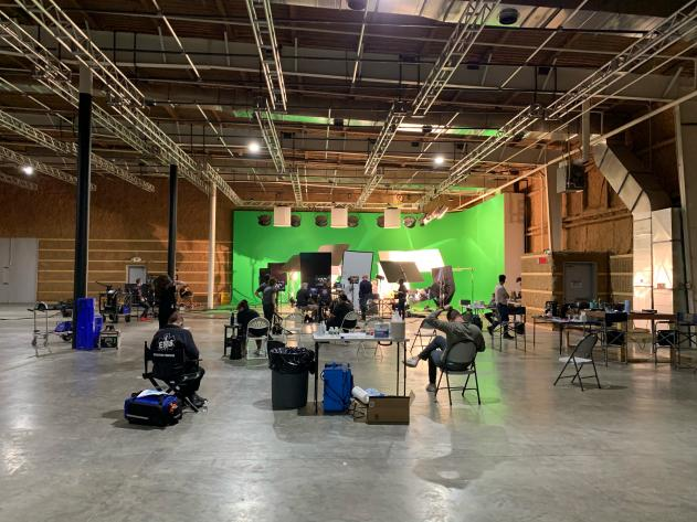 PSA production shoot at Umbra Stages